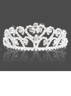 Gorgeous Clear Crystals Wedding Bridal Tiara (042004235)