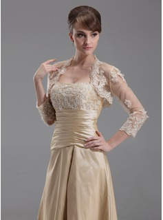 3/4-length Wedding Sleeve Jacket / Wrap Occasioni speciali (013004179)