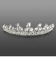 Headpieces (Attractive Clear Crystals Wedding Bridal Tiara 042005466)
