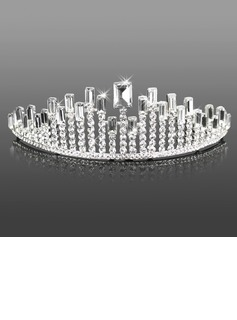 Headpieces (Attractive Clear Crystals Wedding Bridal Tiara 042005465)