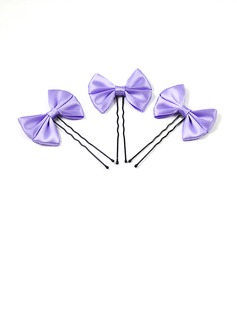 Amazing Alloy/Satin Women's Wedding Hairpins-3pcs (042024893)