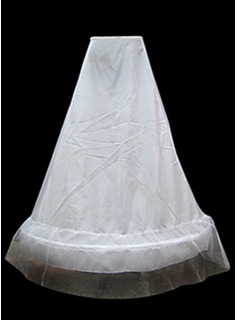 Nylon A-Line 1 Tier Floor lengde Slip stil / Wedding Petticoats (037024162)