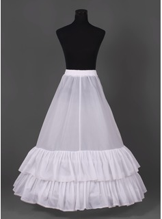 Nylon Floor-length Wedding Petticoats  (037004074)