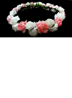 Colorful Lovely Paper Flower Wedding Flower Girl Wreath/ Headpiece (042025219)