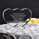 personalisé Doubles Coeurs Cristal Décoration pour gâteaux (118048033)