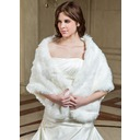 Faux Fur Special Occasion Shawl (013040692)