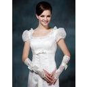 Elastisk Satin Elbow Längd Handskar Bridal (014020478)