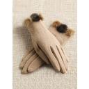 Chinlon/Ull Wrist Längd Party/Mode Handskar (014071901)