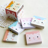 Kitty Designed High quality paper Note Pad (Set of 5)