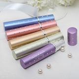 personnalisé En alliage de zinc Bouteille de parfum avec Strass (Lot de 4 couleurs mélangées)