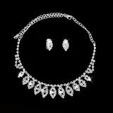 Elegant Alloy/Crystal Ladies' Jewelry Sets