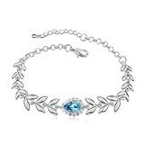 Prächtig Legierung/Platin überzogen mit Kristall Damen Armbänder