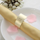 Personalized Zinc Alloy Napkin Rings (118030919)