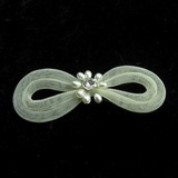 Klassisch Perle/Tüll Haarspangen