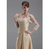 3/4-Length Sleeve  Wedding Jacket / Special Occasion Wrap (013004179)