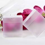 Translucide Cubique Boîtes cadeaux (Lot de 12)