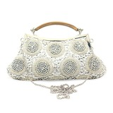 Charming Satin with Beadings and Sequins Evening Handbag/Clutches(More Colors) (012025178)