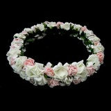 Schön Net Garn Blumen Mädchen Kopfstück