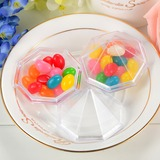 Translucent Pyramid Favor Boxes (Set of 12)