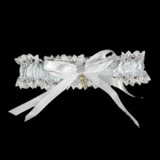 Satin With Bowknot Wedding Garters (041005723)