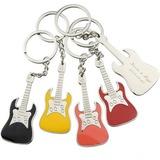 personalisé Guitare En alliage de zinc Portes-clés (Lot de 6)