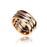 Personalized Alloy/Gold Plated Ladies' Rings