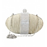 Satin With Austrian Rhinestones Evening Handbags/ Clutches/ Novelty More Colors Available (012016236)