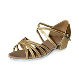 Patent Leather Sandals Flats Latin Dance Shoes (053013158)