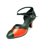 Real Leather Heels Latin Modern Ballroom Dance Shoes (053013256)