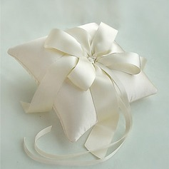 Elegant Ivory Ring Pillow(103018230)
