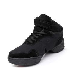 De mujer Niños Lona Zapatillas Entrenamiento con Cordones Zapatos de danza