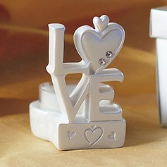 LOVE Design Candle Holder Favors(096017740)