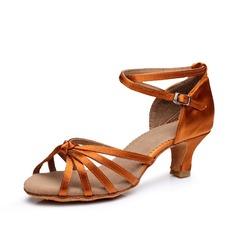 Donna Raso Tacchi Sandalo Latino con Listino alla caviglia Scarpe da ballo