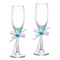 Blomster Tema Skåle Glass Sett (Sett Av 2)