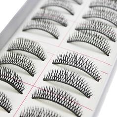 Cils en fibre 10 Paires Naturel Longues et minces Style CFE005 Maquillage
