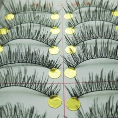 Natural Looking False Eyelashes (10 Pair) (046005732)
