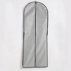 Two Layers Waterproof Cotton / Tulle Center Zip Gown Length Garment Bag (035024127)