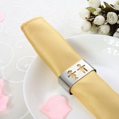 Personalized Lovely Girl&Boy Stainless Steel Napkin Rings