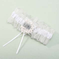 Gorgeous Organza Wedding Garter(104019506)