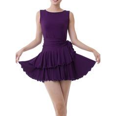 Dancewear Polyester Latin Dance Dresses