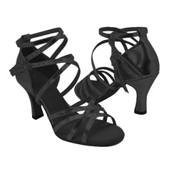 Leatherette Heels Sandals Latin Ballroom Dance Shoes (053009732)