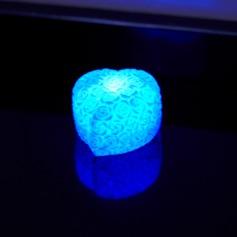 Changement de Couleur Rose Conception Éclairage LED (lot de 4)