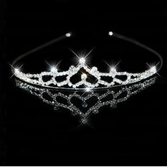 Clear Crystals Wedding Bridal Headpiece/ Headband (042012937)