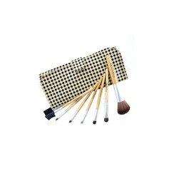 Travel size-Case grain Makeup Brush Set (7Pcs)   (046022856)