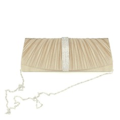 Satin With Rhinestone/ Bowknot Evening Handbags/ Clutches More Colors Available (012016231)