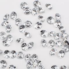 """2/5""""(1cm) Fargerike Diamond Confetti (veske av 1000)"""