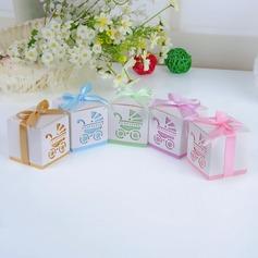 Niors Freier Tag Cubic Geschenkboxen mit Bänder (Satz von 12)