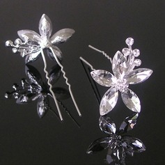 Lovely Alloy/Imitation Pearls Hairpins (Set of 3)