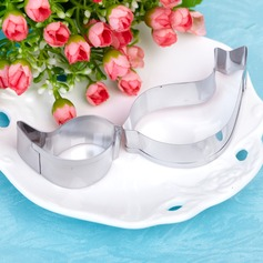Lovely Birds Stainless Steel Cake and Cookie Cutter Mold (Set of 2 pieces)