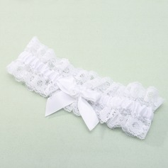 Gorgeous Lace with Bowknot Wedding Garter (104019508)